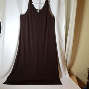Studio 1940 Womens Dress  18/20W dark brown.